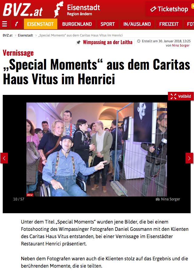 BVZ Presse Zeitung Caritas Burgenland